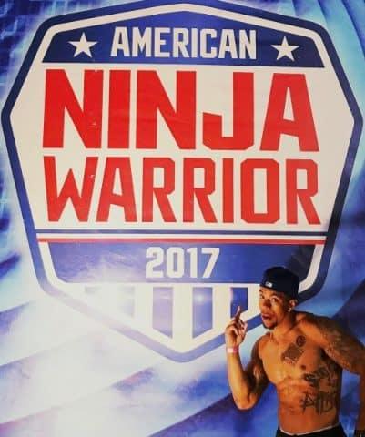 Jesse Thomas III On Ninja Warrior